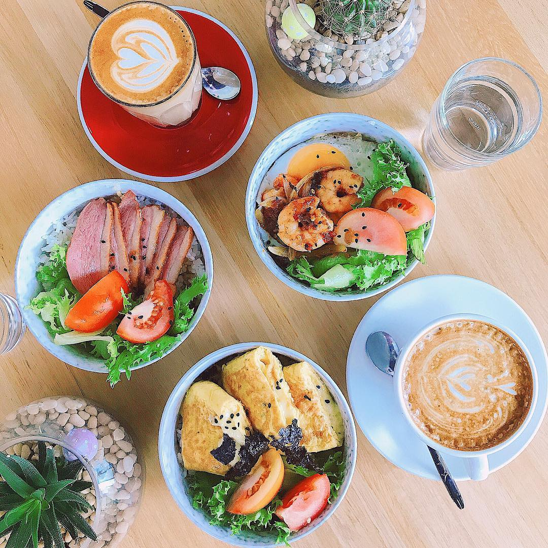 All types of dishes at Ninety One Coffee & Dessert